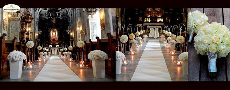 dekoracja kościoła na ślub - Szukaj w Google