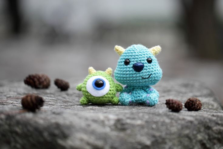 Baby Mike and Sulley from Monsters Inc