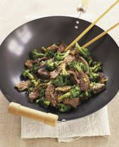 ***THE BEST*** Beef With Broccoli Stir Fry recipe I've ever made.. we use it ALL the time & my 17 yr old son is absolutely nuts over it... the marinade is worth it alone! (it says 1C oil, but i never use that much.. i just slap it together in a non stick pan.. make sure the heat is high, and the meat is med rare when you take it out.. it will cook more later)