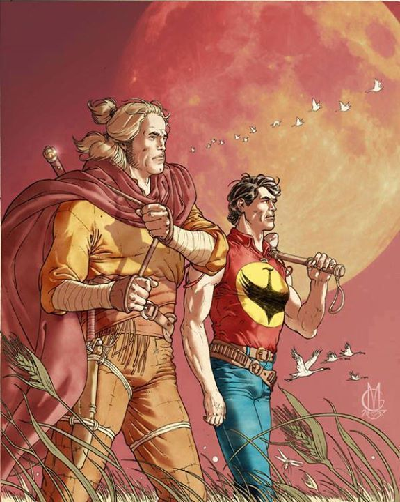 Zagor and Dragonero