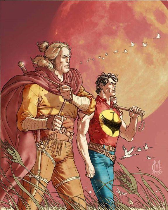 Zagor and Dragonero