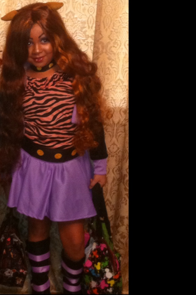 clawdeen wolf costume monster high - Clawdeen Wolf Halloween Costume