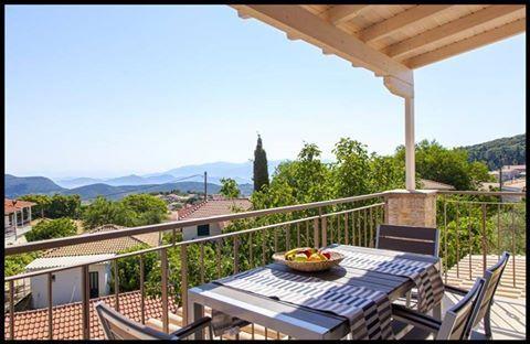 Relaxing holidays in the mountainous Lefkada at Karya Villas
