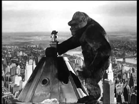 Horror films hebben een grote bijdrage gehad aan de visuele effecten-industrie. Deze film van King Kong wordt nu lacherig bekeken, maar ' terrified the innocents' in zijn tijd...