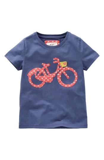 Mini Boden 'Fun Appliqué' Tee (Toddler) bike shirt? yes, please!