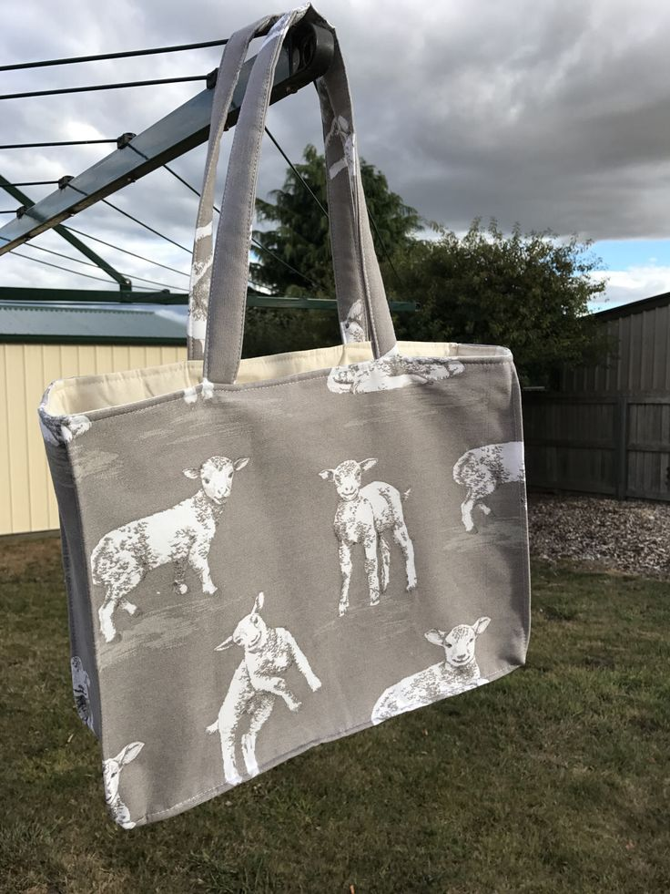 A personal favourite from my Etsy shop https://www.etsy.com/au/listing/520490693/everyday-padded-bag-lamb