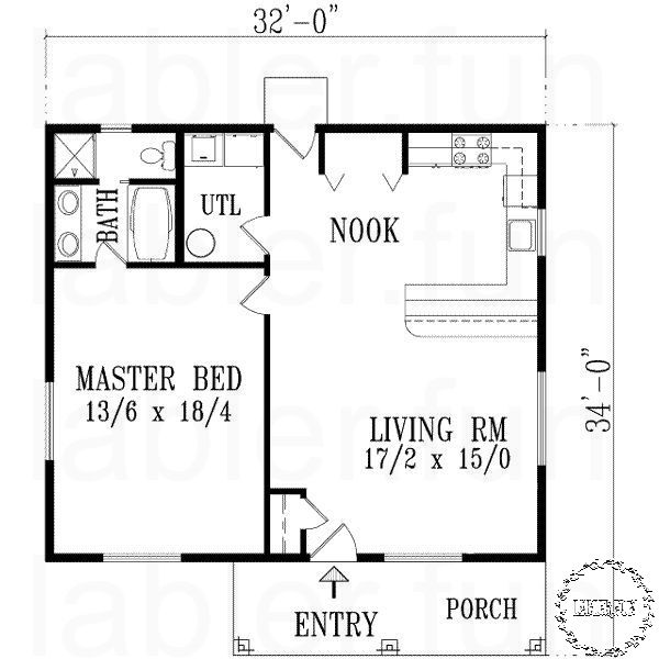 Small House Plans Colonial One Bedroom House Plans 1 Bedroom House Plans One Bedroom House