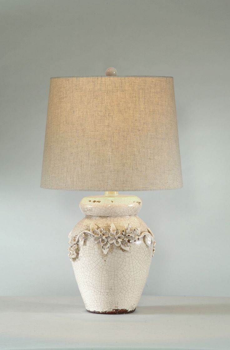 Glass mermaid sitting on conch shell accent lamp eclectic table lamps - Bassett Mirror Eleanore Table Lamp