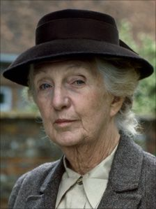 Joan Hickson was the 5th Miss Marple starring in BBC series from 1984 - 1992 (3 seasons - 8 years) Born in Northhampton Aug. 1906 - 1998 (I've been watching her on WETA lately and I can't say she's my favorite but I love all the Miss Marple movies)