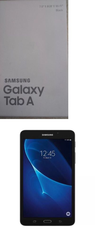 computers: Brand New Samsung Galaxy Tab A 7.0 8Gb Wi-Fi Tablet Android 5.1 Black Full Hd -> BUY IT NOW ONLY: $107.99 on eBay!