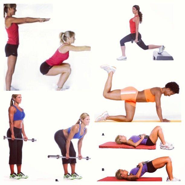 112 Best Workout Bigger Butt Images On Pinterest  Back -5557