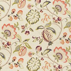 SANGRIA CLOTTED CREAM - Floral/Foliage - Shop By Pattern - Fabric - Calico Corners