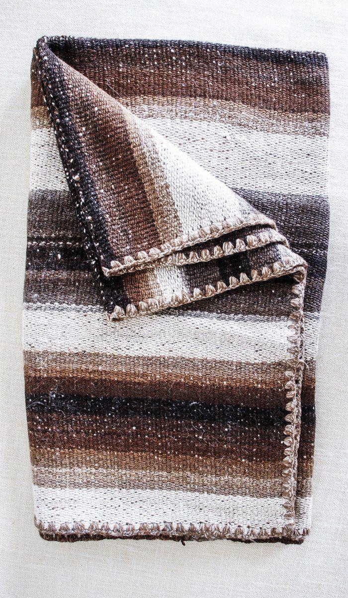 Vintage Alpaca  Blanket/Rug #9