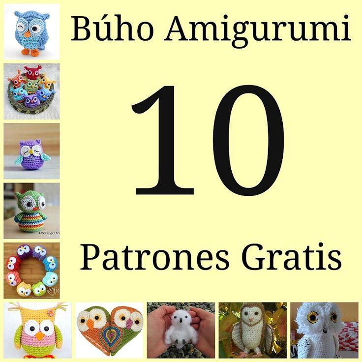 buho amigurumi patron gratis amigurumi owl free pattern crochet ganchillo