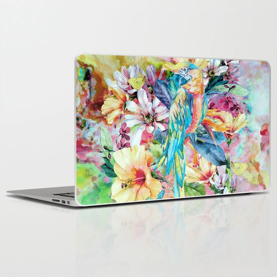 Buy PARROT by RIZA PEKER as a high quality Laptop & iPad Skin. Worldwide shipping available at Society6.com. Just one of millions of products available.