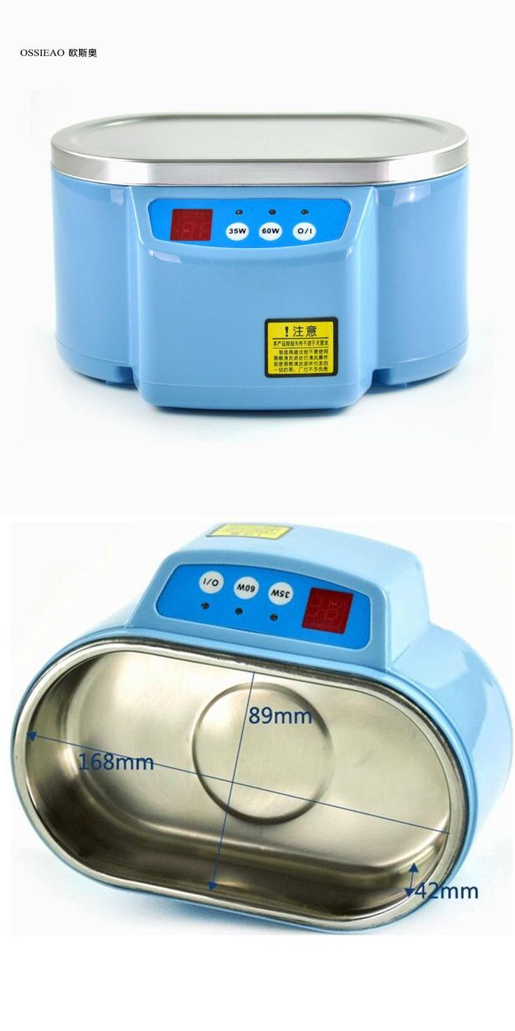 [Visit to Buy] OSSIEAO 220V Dual frequency Mini Ultrasonic Cleaner Application Ultrasonic Bath of Ultrasonic Cleaning Baby's Feeding Tools #Advertisement
