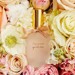 "Thymes Goldleaf Gardenia ~ Thymes has launched Goldleaf Gardenia, a new floral fragrance for women. Goldleaf Gardenia is a flanker to the brand's Goldleaf, and is described as ""Goldleaf's sweet, flirty sister""."