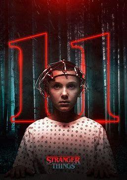 Eleven Stranger Things Poster
