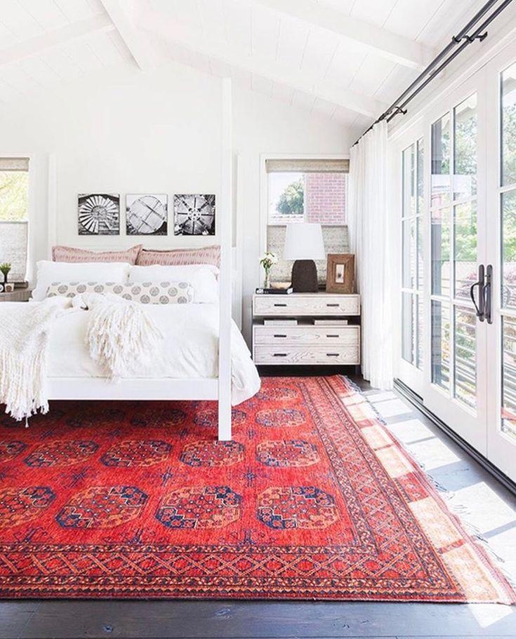 bedroom #carpet #red