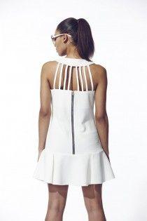 White tea dress by LIQUORISH £65.00