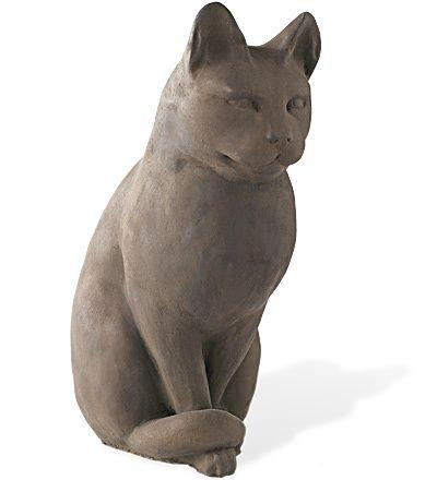 Cat Statue. Concrete Garden StatuesCat StatueDécor ...