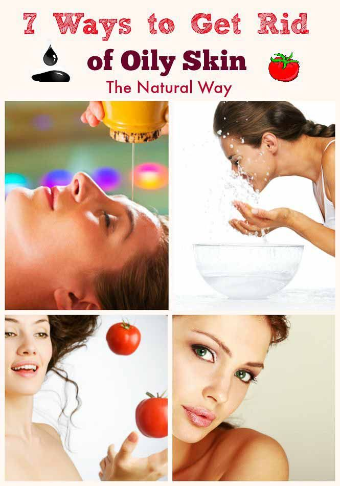 7 Ways To Get Rid Of Oily #Skin. Oily skin is a situation where excess fats and oils accumulate on the surface of the skin, therefore, making the skin shiny
