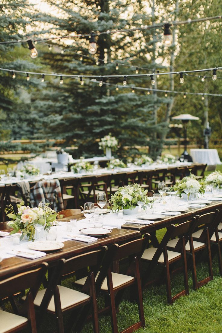 1000 ideas about al fresco dinner on pinterest chevron for Images of outdoor weddings