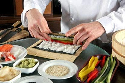 how to learn sushi making