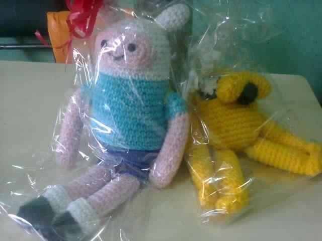 amigurumis finn y jake hermosos para regalar y super fáciles.. creaciones crochet- Comodoro Rivadavia Chubut