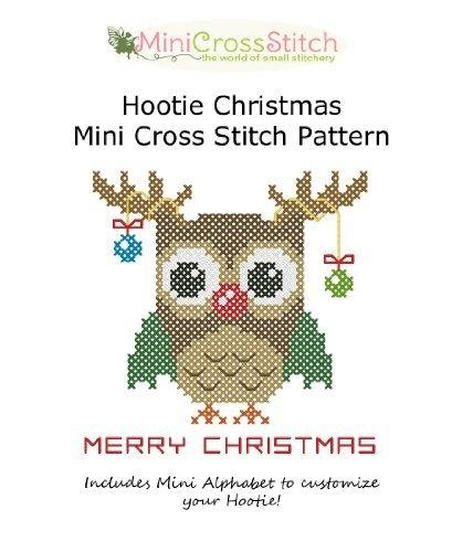 Hootie Christmas Mini Cross Stitch Pattern by Pinoy Stitch, http://www.amazon.com/gp/product/B009RSEJBC/ref=cm_sw_r_pi_alp_aI8Fqb0DXPRNP