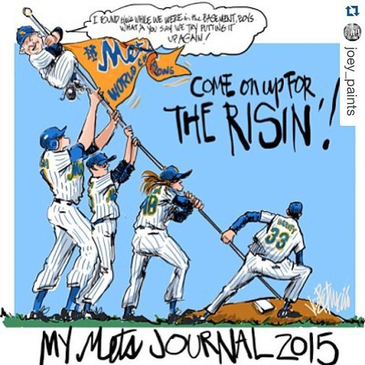 YES @joey_paints you may have something going here... Back in April! Woohoo!! #LGM Baby!!! #Mets #letsgomets #NLCS #OrangeandBlue  #Repost @joey_paints with @repostapp. ・・・ This was my first drawing in my Mets Journal before the season started. Maybe I'm psychic ? LOL REMEMBER YOU HEARD IT HEAR FIRST! #LGM #prediction #psychic #mets #metsart #nyc #yagottabelieve #TCB #NYMETS