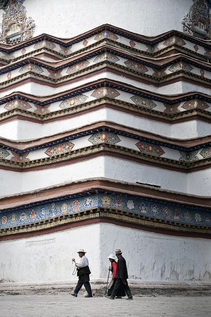 Pilgrim's Walk. Lhasa