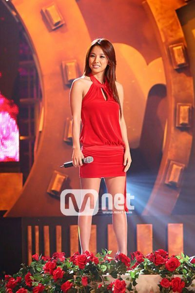 Lee Hyori's outfit on stage in 2007.
