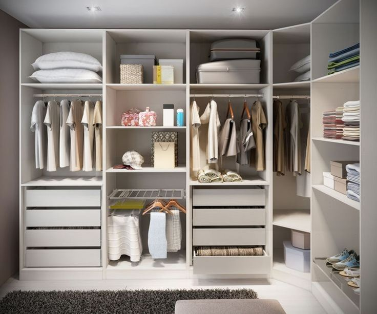 Small Space Closet Designs with Neat and Effective ...