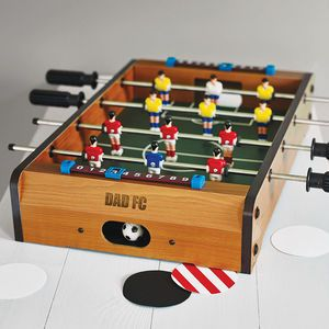 Personalised Table Top Football Game - ultimate man cave
