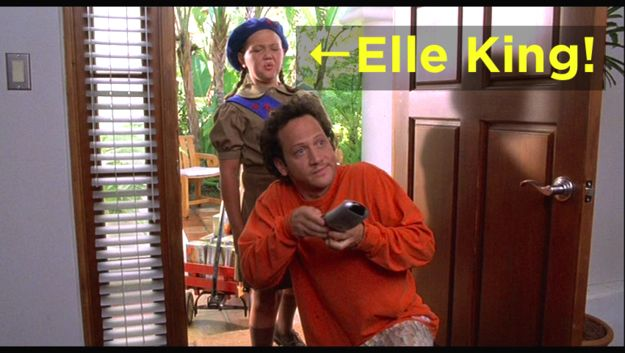 But look! You may have subconsciously linked them together before this moment, because Elle King played the Girl Scout in Deuce Bigalow.   Rob Schneider Is Elle King's Dad Because Sometimes The World Doesn't Make Sense
