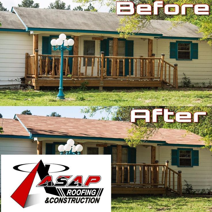 Here Is An Amazing Roof Transformation Done By ASAP Roofing U0026 Construction All  In One Day