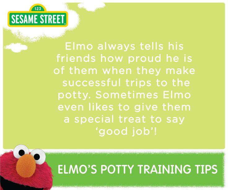 elmo potty chart