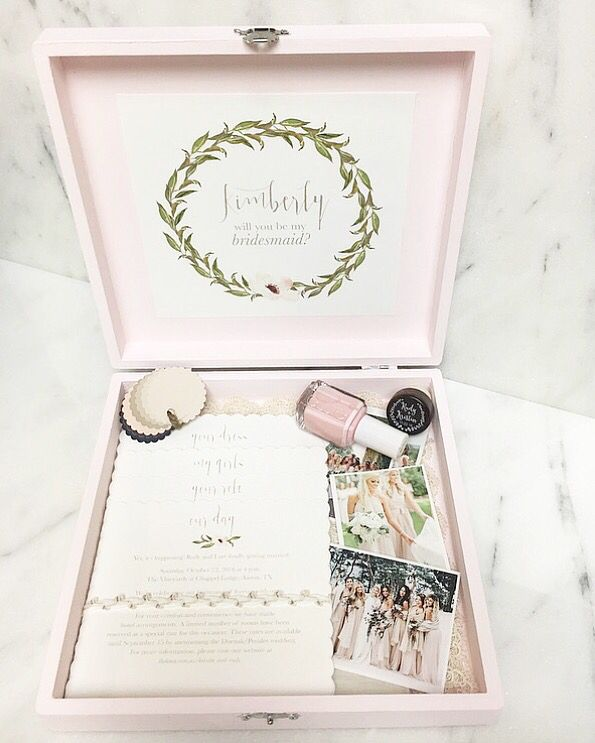 Ideas For Bridesmaids Gifts: 25+ Best Bridesmaid Boxes Ideas On Pinterest