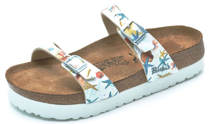 Birkenstock Birki S Tahiti Soft Footbed Platform Sandals