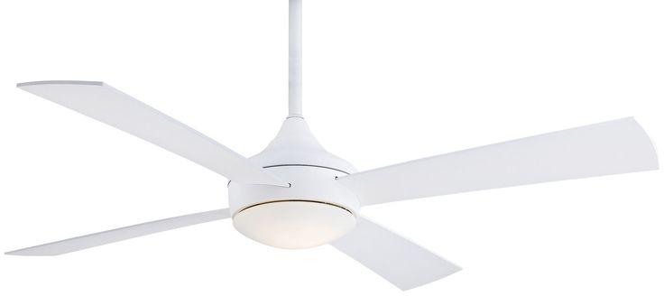 "52"" Aluma 4 Blade Wet Ceiling Fan with Remote"