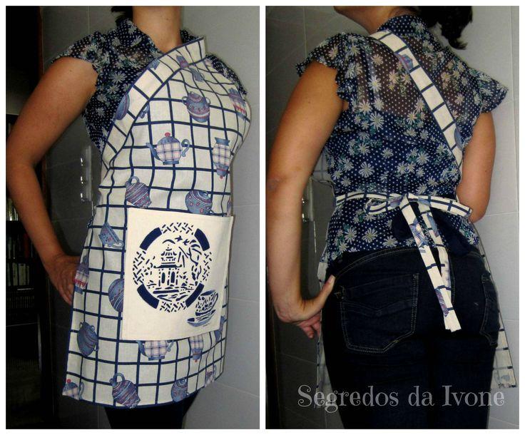 AC12- Pintura em setencil e confecção de avental