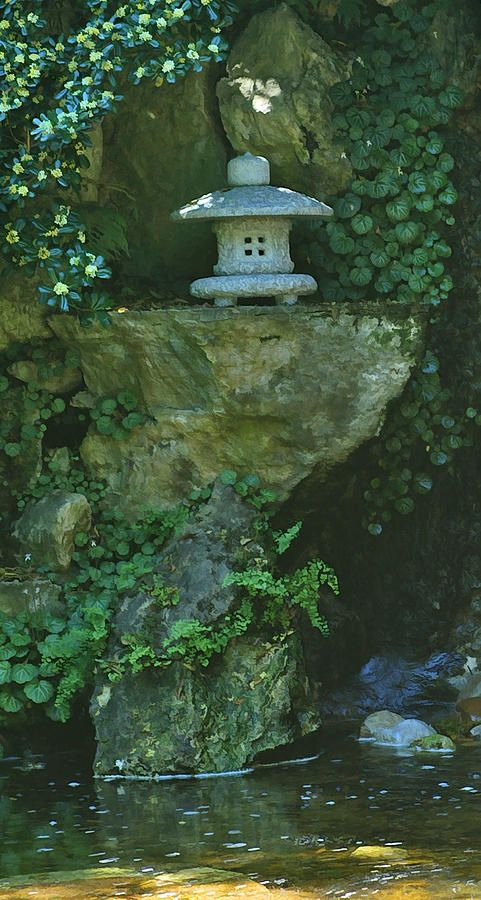 Japanese Zen Garden Water best 25+ japanese garden lanterns ideas on pinterest | japanese
