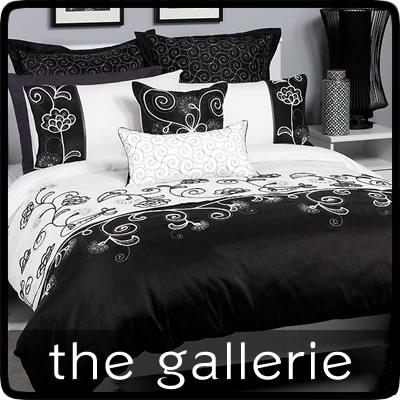 Black & White Monash KING Quilt Doona Cover Set $155.95