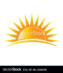 Image result for sunset/ rise cartoon