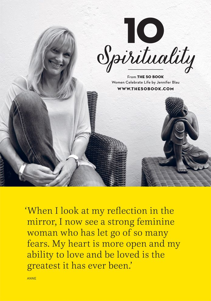 With a healthy #spirituality comes feelings of #self-love and #self-worth. We should all learn to embrace our #reflections. #inspirational #motivationalquote #women #the50book #aging
