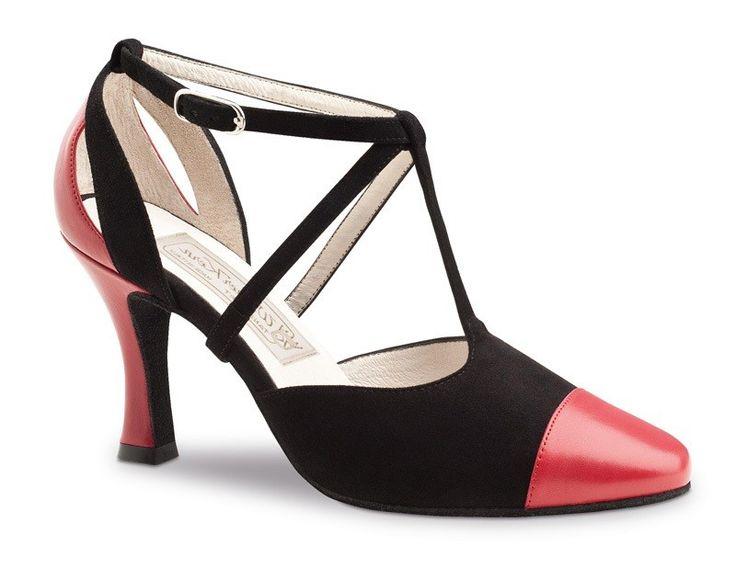 PortDance - Mujeres Zapatos de baile PD631 - Dark Tan Satin [EU 38] IdD3n