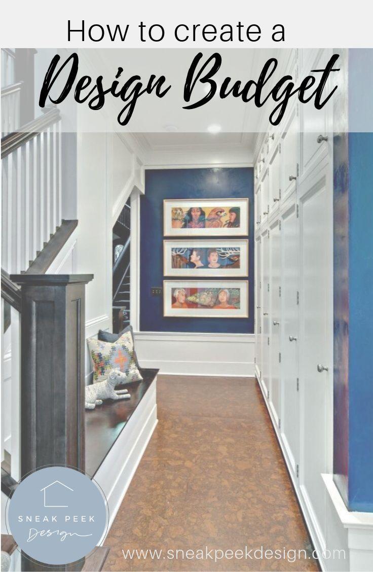 How To Create A Design Budget Carla Bast Design Budget Interior Design Basement Design Design Remodel