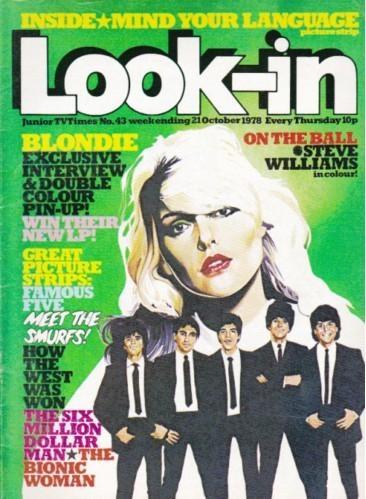 October 1978, Blondie.