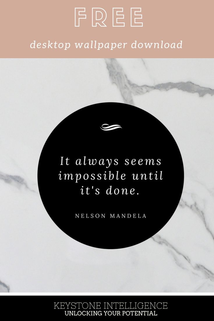 FREE Desktop Wallpaper download with this awesome Nelson Mandela quote. Inspire yourself daily. As a thank you for signing up to my newsletter, the link will appear.